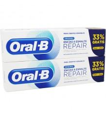 Oral B Repair Encias y Esmalte 100 ml Duplo Promocion
