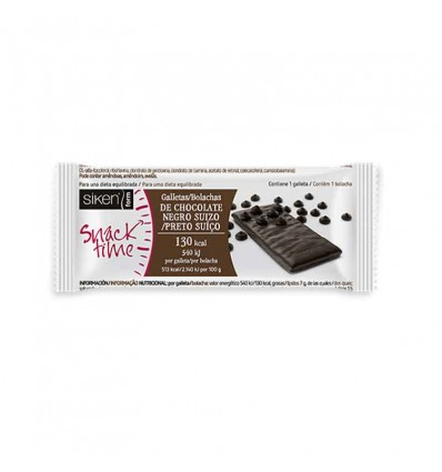 Siken Form Snack Galleta Chocolate Negro 22g