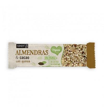 Siken Form Barrita Almendras Cacao 28g