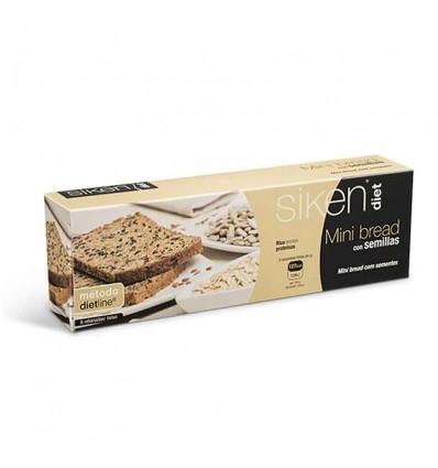 Siken Diet Mini Bread 8 Unidades