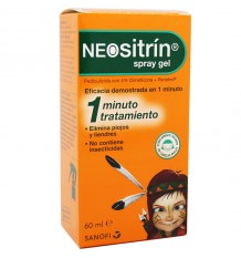Neositrin Spray Gel Liquido Antipiojos 60 ml