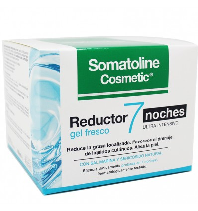 Somatoline Reductor 7 Noches Ultra intensivo Gel Fresco 400 ml