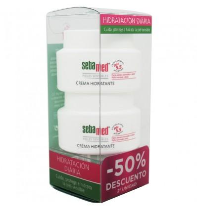 Sebamed Crema Facial Hidratante Piel sensible Duplo 150 ml