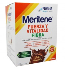 Meritene Chocolate Fibra 14 envelopes