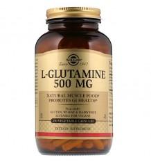 Solgar L-Glutamina 500mg 250 Capsulas