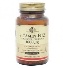Solgar Vitamin B12 1000 mcg 250 tablets