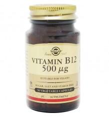 Solgar Vitamin B12 500 µg 50 Capsules
