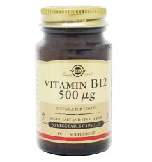 Solgar Vitamina B12 500 µg 50 Capsulas