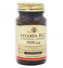 Solgar Vitamine B12 1000 mcg 100 Comprimés