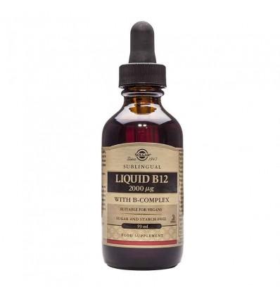 Solgar Vitamina B12 Liquido B Complex 59 ml