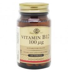Solgar Vitamine B12 100 mcg 100 comprimés