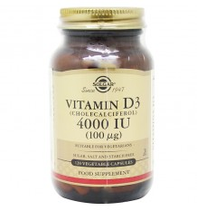 Solgar Vitamin D3 4000UI 120 Kapseln