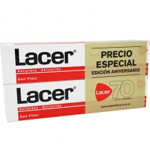 Lacer Toothpaste Duplo 125 ml
