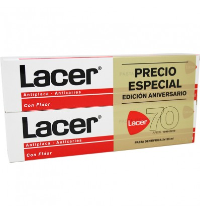 Lacer Pasta Dental Duplo 125 ml