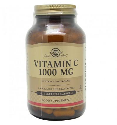 Solgar Vitamina C 1000 100 Capsulas