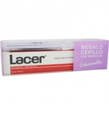Lacer Pasta dental 125 ml Pack Cepillo Mensajes