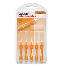 Lacer Interdental Gerade Extra fine Weiche 6 Einheiten