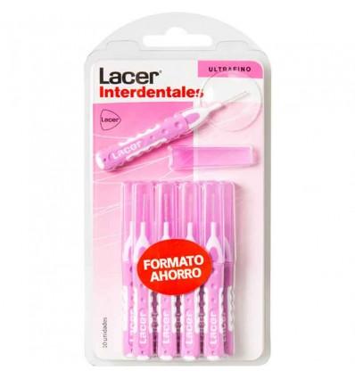 Lacer Interdentales Recto Ultrafino 10 unidades