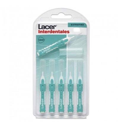 Lacer Interdentales Recto ExtraFino 6 unidades