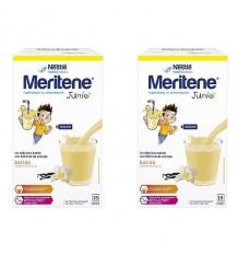 Junior Meritene Vanille 30 Umschläge Duplo