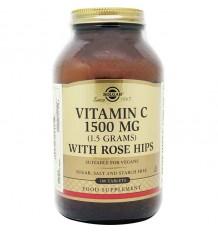 Solgar Vitamin C Rose Hips 1500mg 180 Tablets