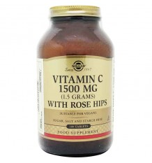 Solgar Vitamina C Rose Hips 1500mg 180 Comprimidos