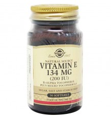 Solgar Vitamina E 200UI 50 Capsulas
