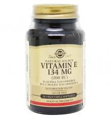 Solgar Vitamina E 200UI 50 Cápsulas Vegetais