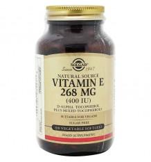 Solgar Vitamina E 400UI 100 Cápsulas Vegetais