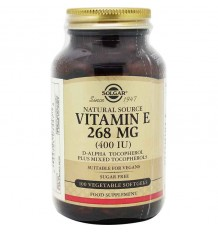 Solgar Vitamine E 400UI 100 Capsules Légumes