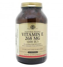 Solgar Vitamina E 400UI 250 Capsulas