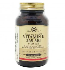 Solgar Vitamin E 400UI 50 Capsules
