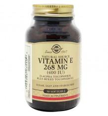Solgar Vitamina E 400UI 50 Capsulas
