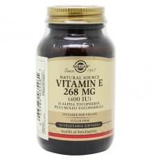 Solgar Vitamin E 400UI 50 Kapseln Gemüse