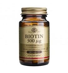 Solgar Biotina 300 microgramos 100 comprimidos