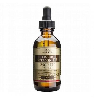 Solgar Vitamina D3 2500UI Liquida 59ml