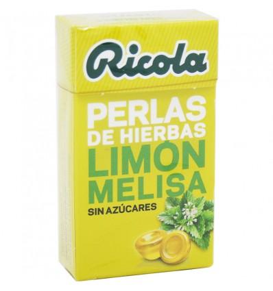 Ricola Perlas Limon Melisa Sin azucar 25 g