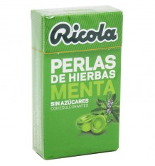 Ricola Pearls Mint Without Sugar 25 g