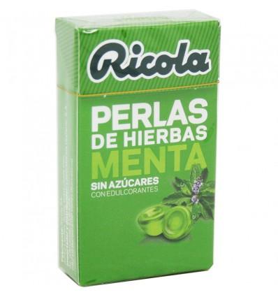 Ricola Pérolas Hortelã Sem Açúcar 25 g