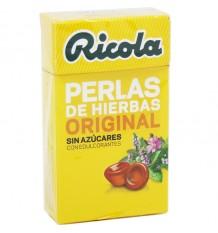 Ricola Perlas Hierbas Original Sin Azucar 25 g