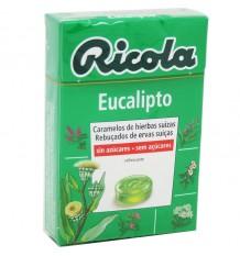 Ricola Bonbons à l'Eucalyptus Sans Sucre 50g