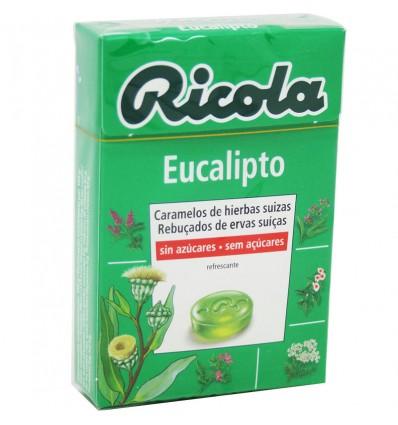 Ricola Caramelo Eucalipto Sin Azucar 50g
