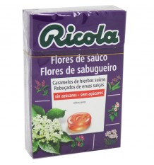 Ricola Candy Flower Sauco Without Sugar 50g