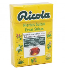Ricola Bonbons Herbes Original Sans Sucre 50g