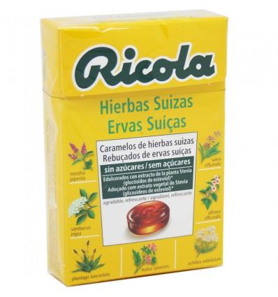 Ricola Bonbons Kräuter Original Ohne Zucker, 50g
