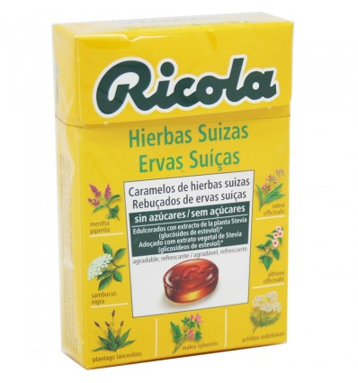 Ricola Candy Herbs Original Without Sugar 50g