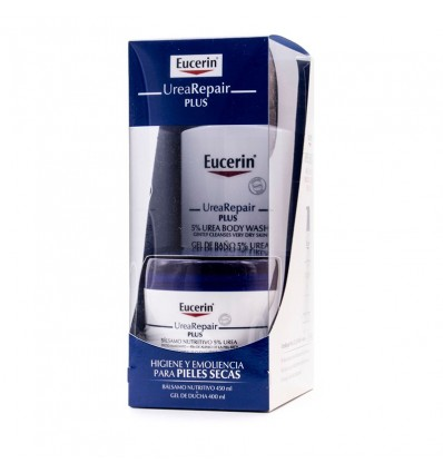 Eucerin Urearepair Plus Balsam 450 ml Duschgel 400 ml