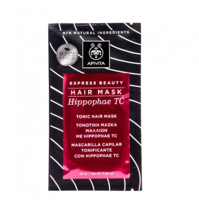 Apivita Express Máscara Tonificante 20 ml Hippophae