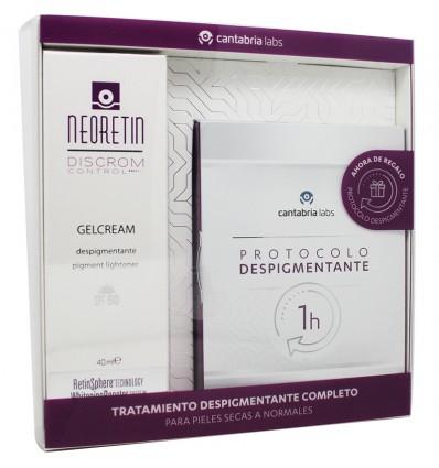 Neoretin Discrom Control Gel Cream Spf50 40 ml Protocolo Despigmentante