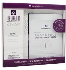 Neoretin Discrom Control Serum Booster 30 ml Protocolo despigmentante